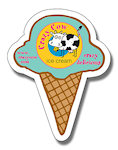 Ice Cream Cone Shape Magnets
